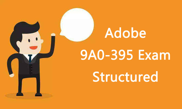 Adobe 9A0-395 Exam Structured