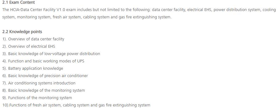 H12-411-ENU exam details