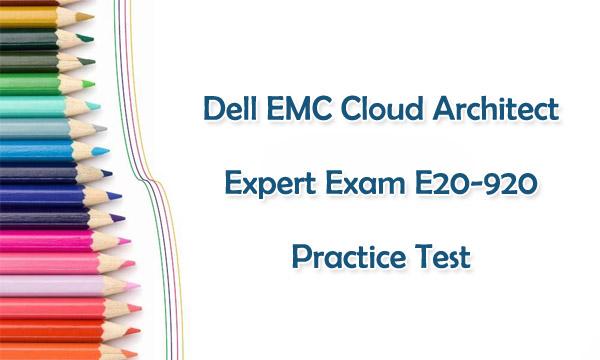 New E20-920 Practice Test