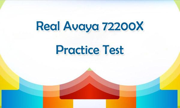 Killtest Real Avaya 72200X Practice Test