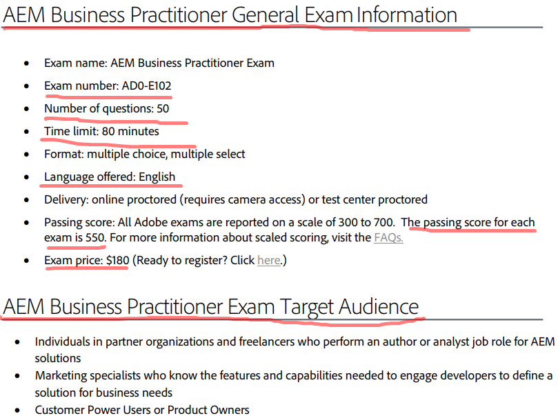 Adobe AD0-E102 Exam Information
