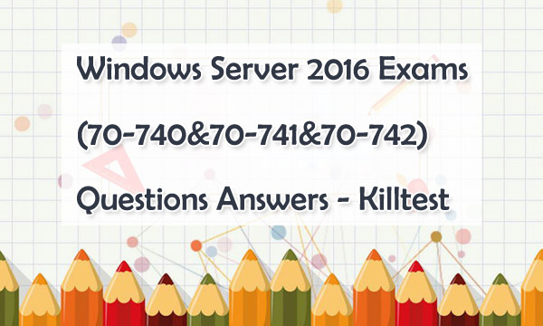 Microsoft 70-741 Exam Questions