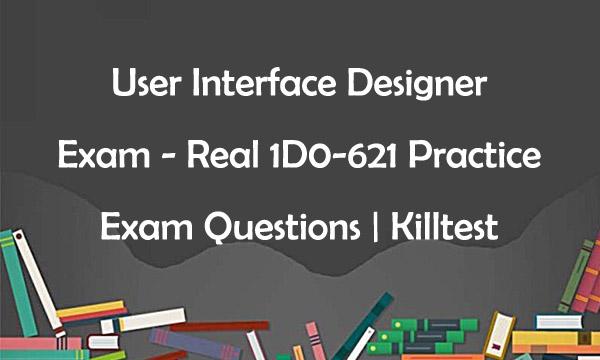 1D0-621 Real Exam Questions