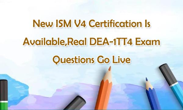 Real DEA-1TT4 Exam Questions