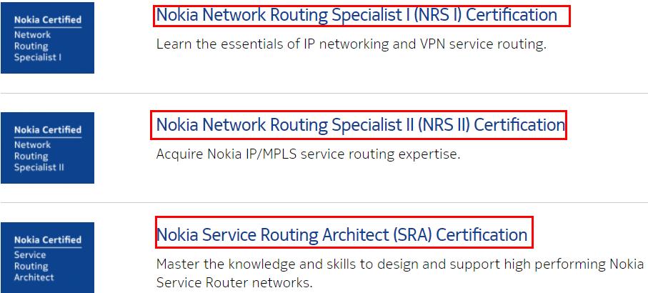 Nokia SRC Program