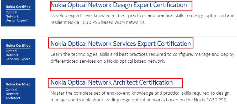 Nokia ONC Program