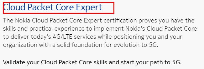 Nokia CPC Program