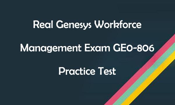 GE0-806 Practice Test Killtest
