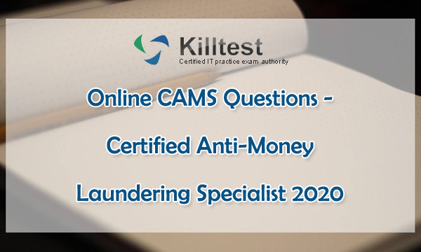 Killtest Online CAMS Questions