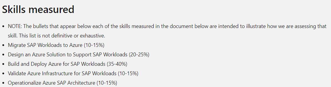 AZ-120 Skills Measured