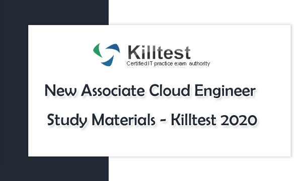 Real Associate Cloud Engineer Study Materials