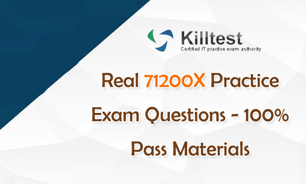 Real 71200X Practice Exam Questions