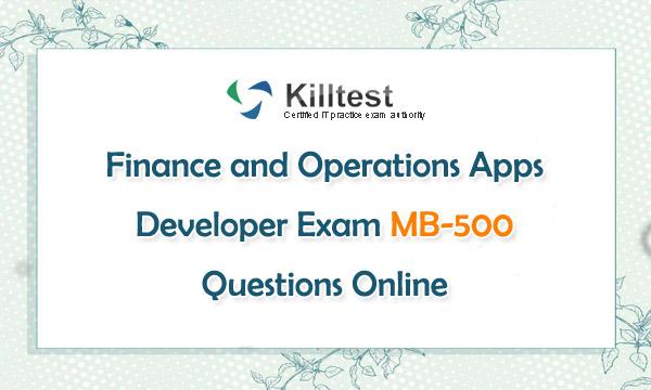Microsoft MB-500 Exam Questions Online
