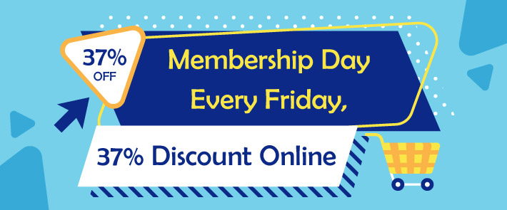 37% Discount Every Friday