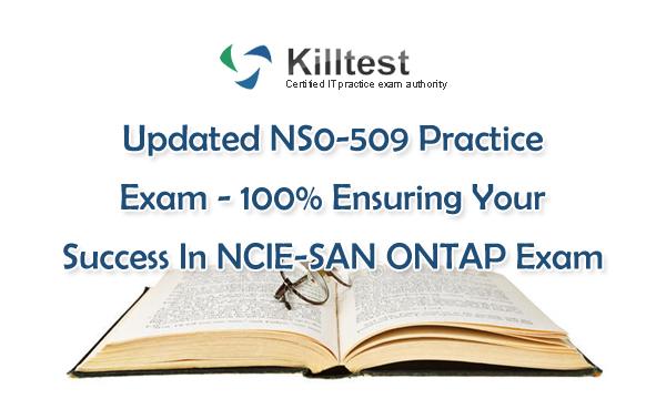 Updated NS0-509 Practice Exam