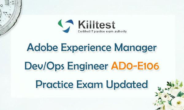 Updated AD0-E106 Practice Exam