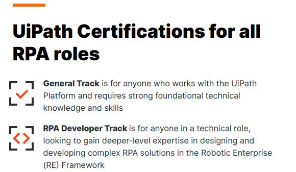 UiPath Certifications