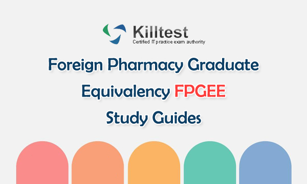 Foreign Pharmacy Graduate Equivatency FPGEE Study Guides