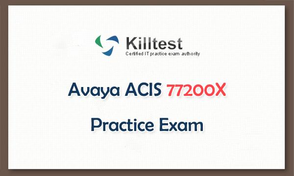 Avaya ACIS 77200X Practice Exam