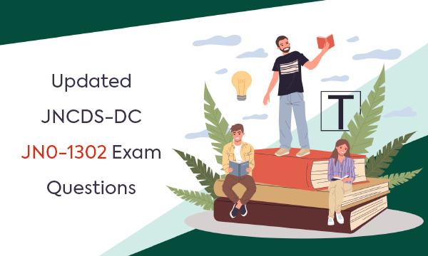 Updated JNCDS-DC JN0-1302 Exam Questions