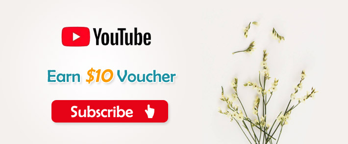 Earn $10 Voucher for Subscription