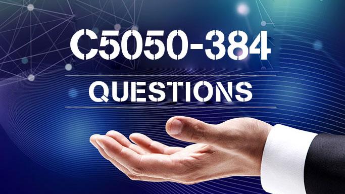 IBM Cloud C5050-384 Practice Exam