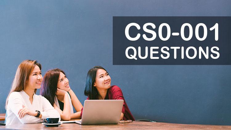 CompTIA CySA+ Certification CS0-001 Exam Questions