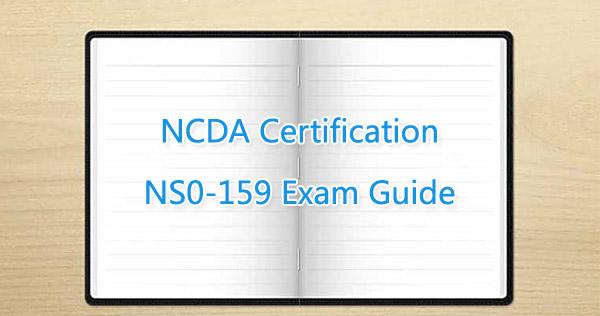 NCDA NS0-159 Exam Guide Killtest