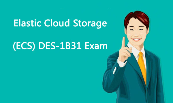 Elastic Cloud Storage (ECS) DES-1B31 Exam Killtest