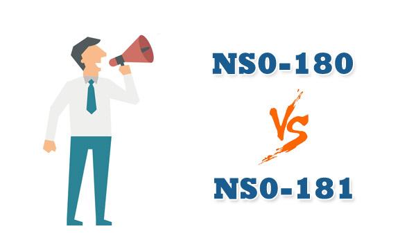 NS0-180 VS NS0-181