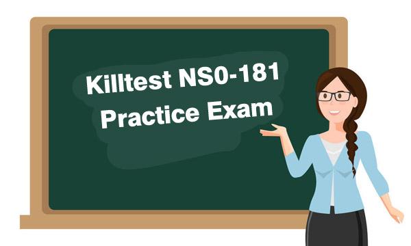 Killtest NS0-181 Practice Exam