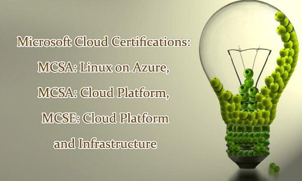 Microsoft Cloud Certifications