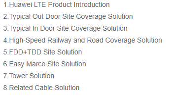 eNodeB LTE Site Solution