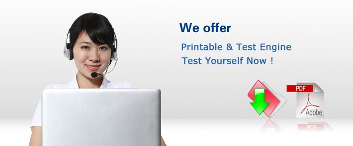 We offer  Printable & Test Engine